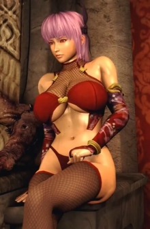 Kasumi the Slave of HELL 4 Episode 1: Kasumi and Ayane