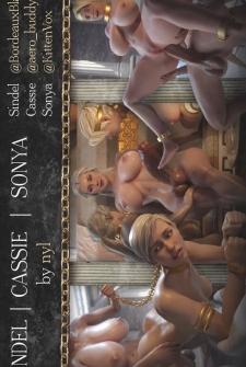 Sindel Cassie Sonya